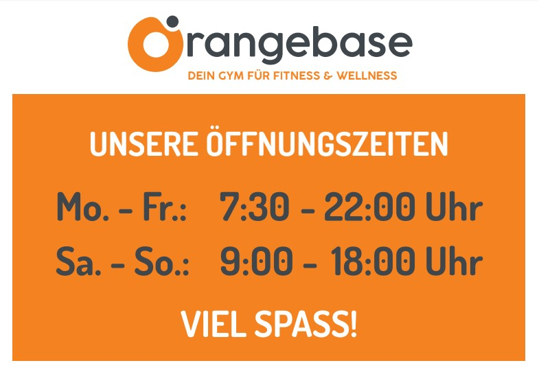Papenburg Fitness – Fitnessstudio in Papenburg – Orangebase Gym oeffnungszeiten